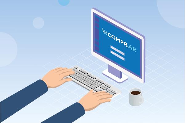 COMPR.AR VIRTUAL: Solicitud de contratación y proceso de compra