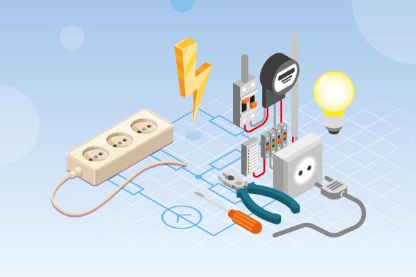 Electricidad: Cálculos fundamentales y representación gráfica
